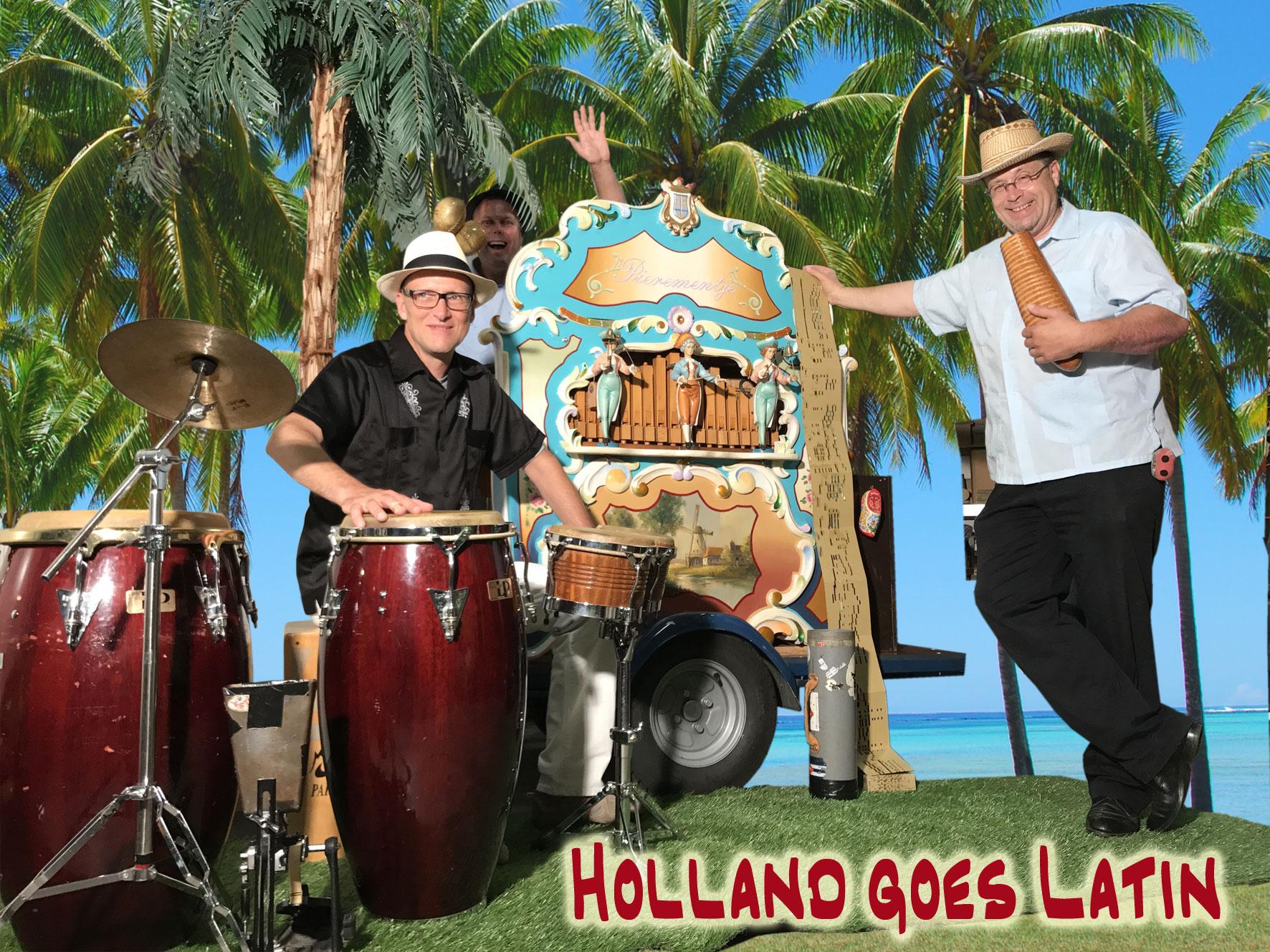 Holland goes Latin! Draaiorgel met salsamuziek, Cubaanse Son, dansen huren te huur